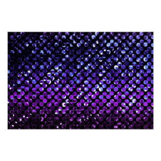 Perfect Poster Purple Crystal Bling Strass