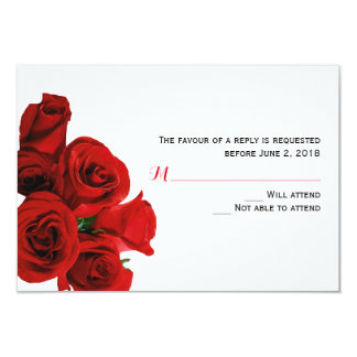 Perfect Roses Response Card
