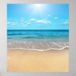 Perfect Sandy Beach Poster