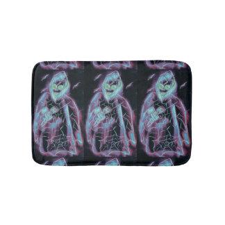 perfect scary skeleton bathroom mat