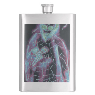 perfect scary skeleton flasks