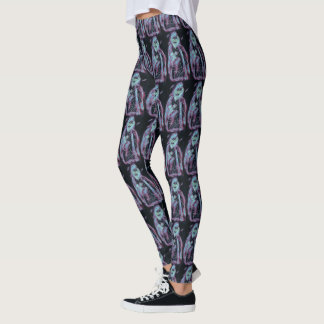 perfect scary skeleton leggings
