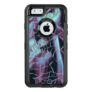 perfect scary skeleton OtterBox defender iPhone case