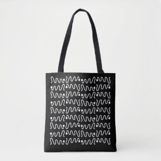 Perfect Scribbles Tote Bag