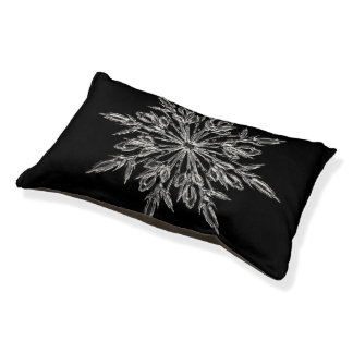 Perfect Snowflake for the Christmas Holiday Pet Bed
