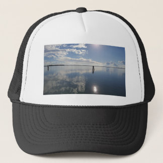 Perfect still water trucker hat