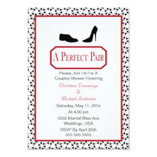 Perfect Stylish Shoe Wedding Shower Invitation