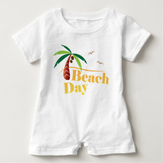 Perfect Summer Beach Day Baby Romper