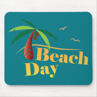 Perfect Summer Beach Day Mouse Pad