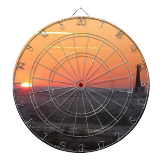 Perfect Sunset Dartboard