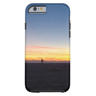 Perfect Sunset in Huntington Beach, California Tough iPhone 6 Case