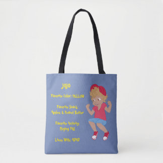 Perfect Tote - JoJo(Blue)