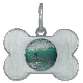 perfect wave pet ID tag