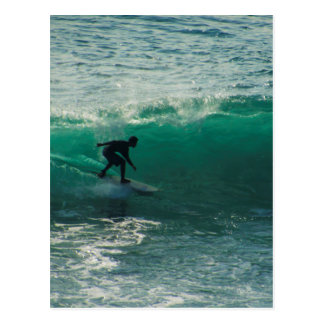 perfect wave postcard