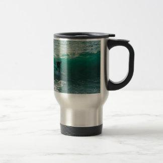 perfect wave travel mug
