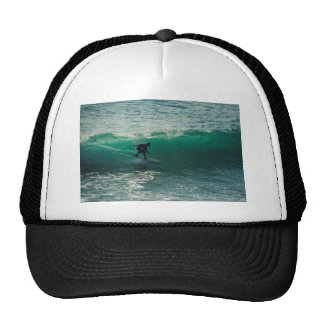 perfect wave trucker hat