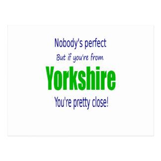 Perfect Yorkshire Postcard
