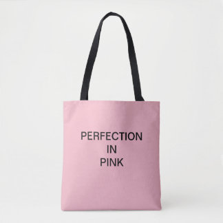 PERFECTION IN PINK shopper Tote Bag