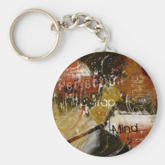Perfection is a Trap for the Creative Mind Basic Round Button Keychain