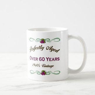 Perfectly Aged Over 60 Years Coffee Mug