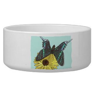 Perfectly Balanced Butterfly Dog Bowls
