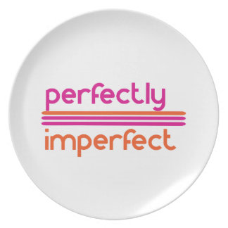 Perfectly Imperfect Plate