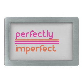 Perfectly Imperfect Rectangular Belt Buckle