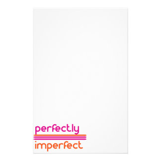Perfectly Imperfect Stationery Design