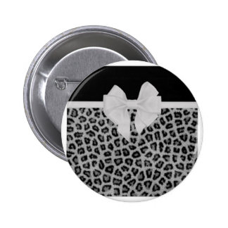 Perfectly Polished Animal Print Design Gifts 2 Inch Round Button