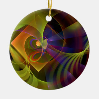 Performance-Complexity-Poster-Available Round Ceramic Ornament