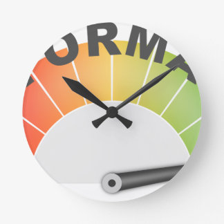 Performance Round Clock