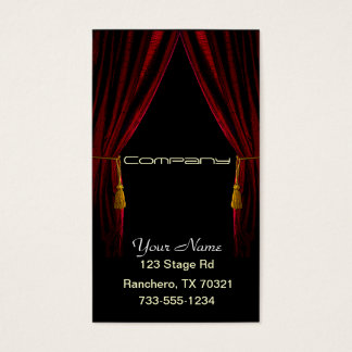 Performing Arts Business Card