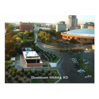 Performing Arts Downtown Wichita, Kansas Postcard
