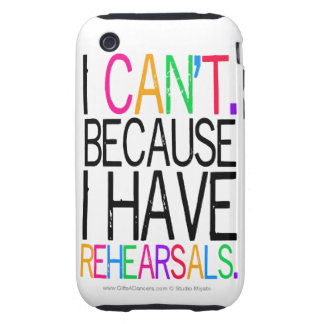 Performing Arts Humor iPhone 3G/3GS Case