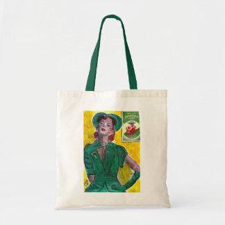 Perfume Ad 1940's Style Tote Bag