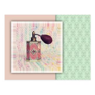 Perfume Bottle Postcard