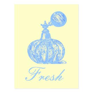 Perfume Fresh Postcard