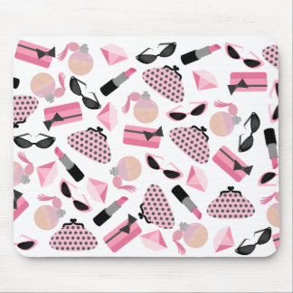Perfume Purses Sunglasses & Lipstick Mousepad