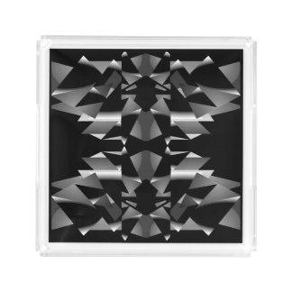 Perfume Tray for Women-Black/White/Gray