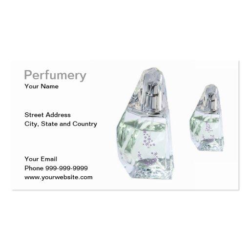 perfumery business card template