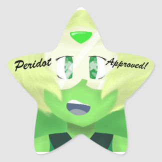 Peridot Approved! Stickers