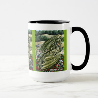 Peridot Dragon Wraparound Mug
