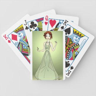 Peridot Princess Bicycle Playing Cards