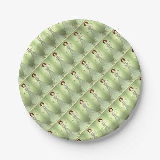 Peridot Princess Paper Plate