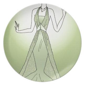 Peridot Princess Plate