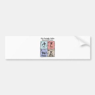 Periodic - Greek Bumper Sticker