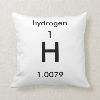Periodic Table 1 Hydrogen Pillow