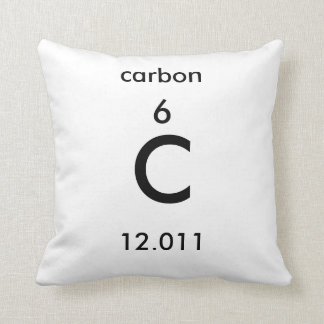 Periodic Table 6 Carbon Pillow