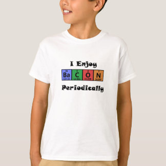 Periodic Table Bacon Science Chemistry Funny Tshirts
