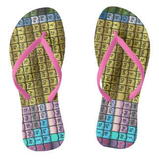 Periodic Table Flip Flops
